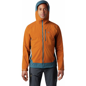 Mountain Hardwear Stretch Ozonic Jacket Men rust earth